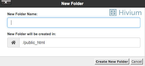 New Folder Creation Option